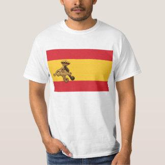 El Pulpo Paul invade la bandera de España! T-Shirt