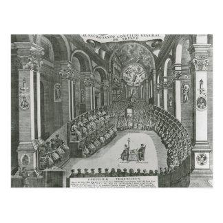 El Sacrosanto Concilio General de Trento Postcard
