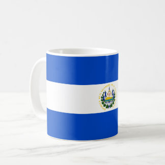 El Salvador country long flag nation symbol republ Coffee Mug