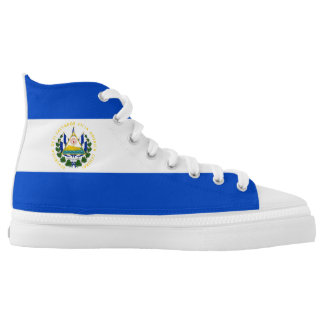 El Salvador country long flag nation symbol republ High Tops