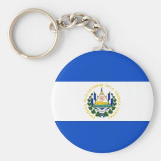 El Salvador country long flag nation symbol republ Keychain