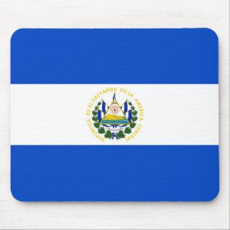 El Salvador country long flag nation symbol republ Mouse Pad