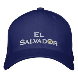 El Salvador Embroidered Hat