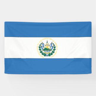 El Salvador Flag Banner