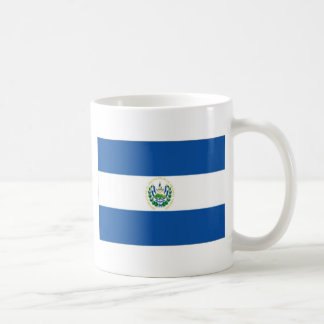 El Salvador Flag Coffee Mug