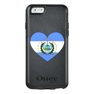 El Salvador Flag Heart OtterBox iPhone 6/6s Case