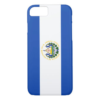 El Salvador Flag iPhone 7 Case