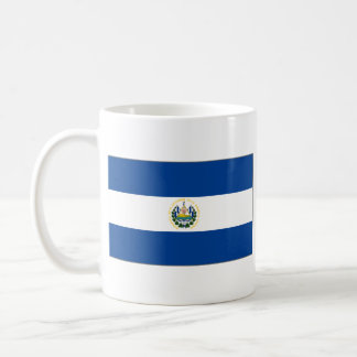 El Salvador Flag ~ Map Mug