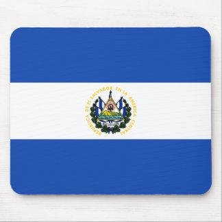 El Salvador Flag Mouse Pad