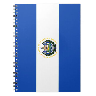 El Salvador Flag Notebooks
