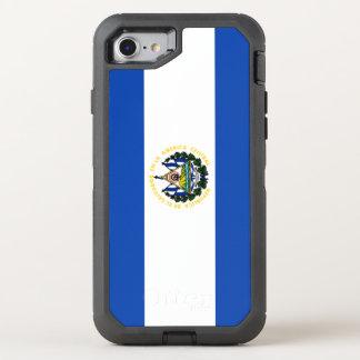 El Salvador Flag OtterBox Defender iPhone 8/7 Case