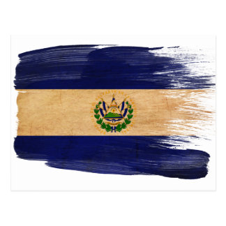 El Salvador Flag Postcards