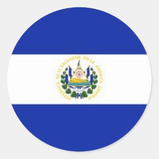 El Salvador flag stickers