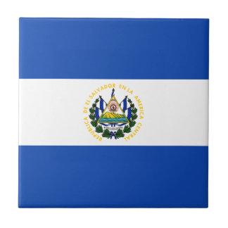 El Salvador Flag Tile