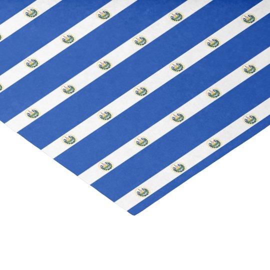 El Salvador Flag Tissue Paper
