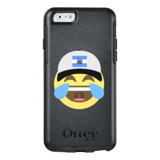 El Salvador Hat Laughing Emoji OtterBox iPhone 6/6s Case