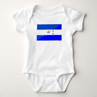 el salvador honduras half flag country symbol baby bodysuit