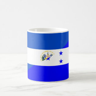 el salvador honduras half flag country symbol coffee mug