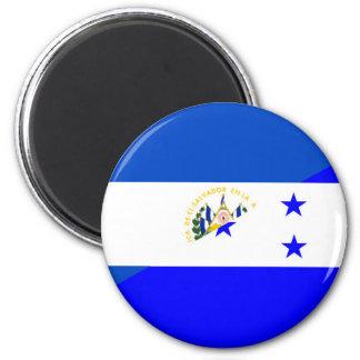 el salvador honduras half flag country symbol magnet