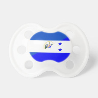 el salvador honduras half flag country symbol pacifier