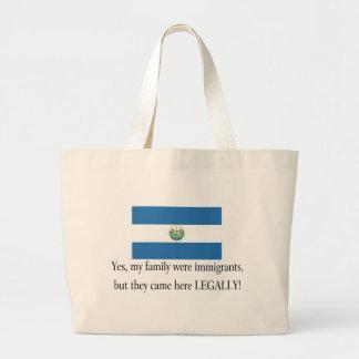 El Salvador Jumbo Tote Bag