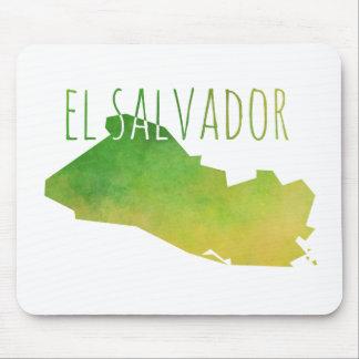El Salvador Map Mouse Pad