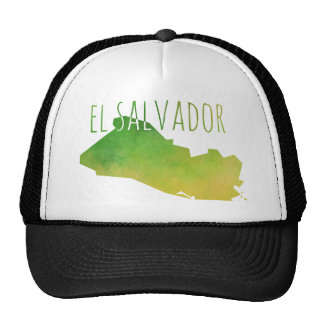 El Salvador Map Trucker Hat