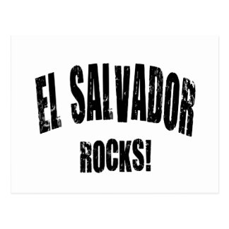 El Salvador Rocks! Postcard