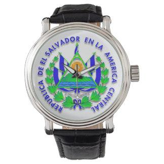 El Salvador shield Watch