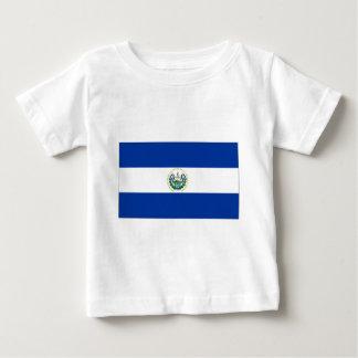 El Salvador State Flag Baby T-Shirt