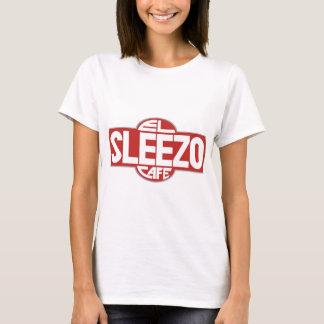 El Sleezo Cafe with back image T-Shirt