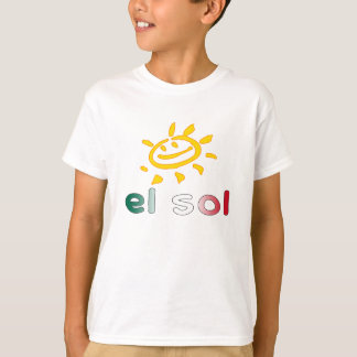 El Sol The Sun in Mexican Summer Vacation Shirts
