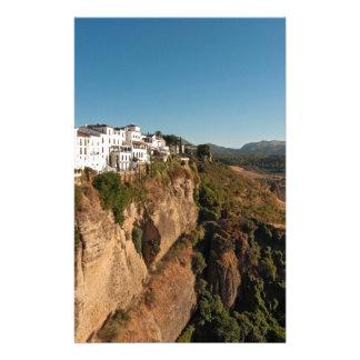 El Tajo Gorge, Ronda, Spain Stationery