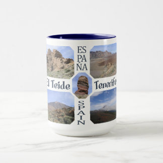 El Teide custom mug – choose style, color