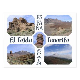 El Teide Tenerife custom postcard