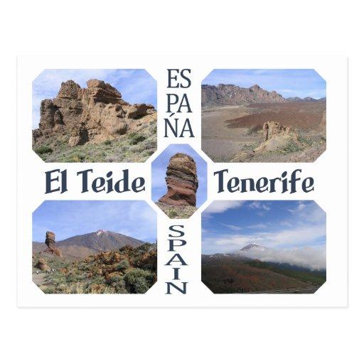 El Teide, Tenerife custom postcard