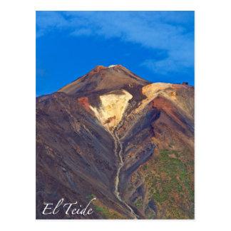 El Teide, Tenerife, Postcard