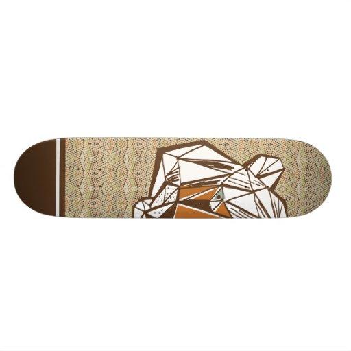 El Tigre Skate Deck