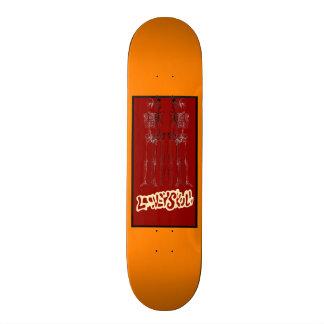 El Trio De Equeletos Skate Board