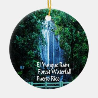 El Yunique Rainforest Ceramic Ornament