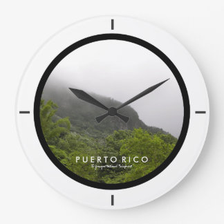 El Yunque National Rainforest, Puerto Rico Clock
