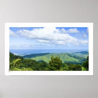 El Yunque View Poster