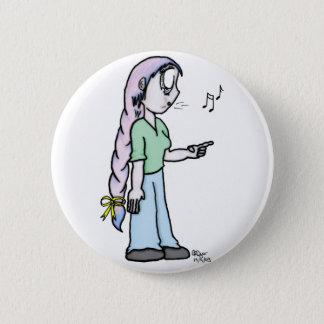 Elain copy 2 inch round button