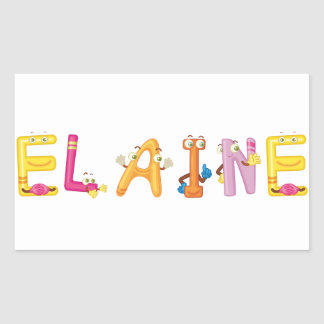 Elaine Sticker