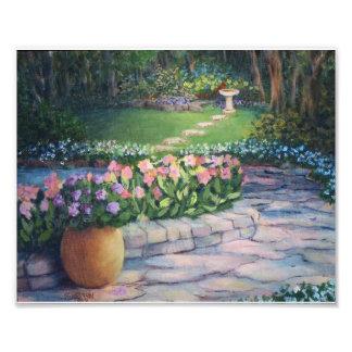 Elaine's Garden Photo Print