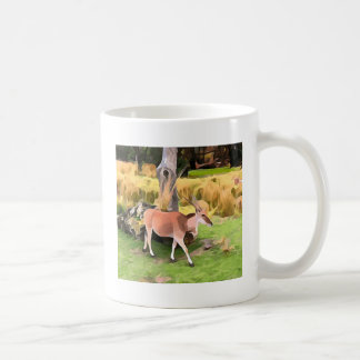 Eland Antelope from Safari Coffee Mug