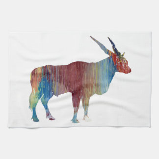 Eland antelope kitchen towel