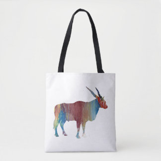 Eland antelope tote bag