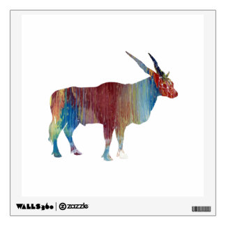Eland antelope wall decal