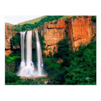 Elands River Falls, Mpumalanga, South Africa Postcard